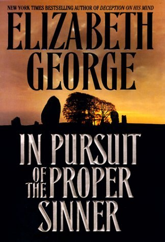 Elizabeth A. George In Pursuit Of The Proper Sinner