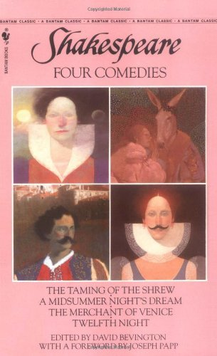 William Shakespeare Four Comedies The Taming Of The Shrew A Midsummer Night's Drea