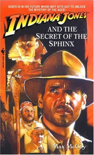 Max Mccoy Indiana Jones And The Secret Of The Sphinx Bantam Reissue