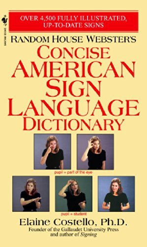 Elaine Costello Random House Webster's Concise American Sign Langu