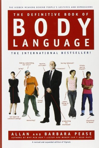 Barbara Pease The Definitive Book Of Body Language The Hidden Meaning Behind People's Gestures And E