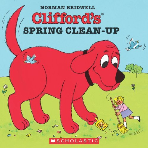 Norman Bridwell Clifford's Spring Clean Up