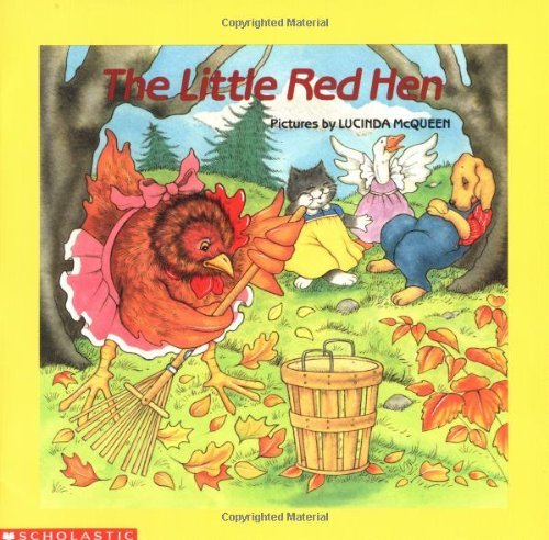 Lucinda Mcqueen The Little Red Hen