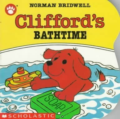 Norman Bridwell Clifford's Bathtime