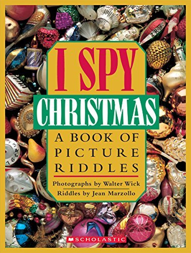 Jean Marzollo I Spy Christmas A Book Of Picture Riddles