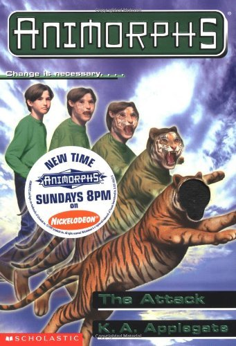 K. A. Applegate Attack Animorphs Book 26
