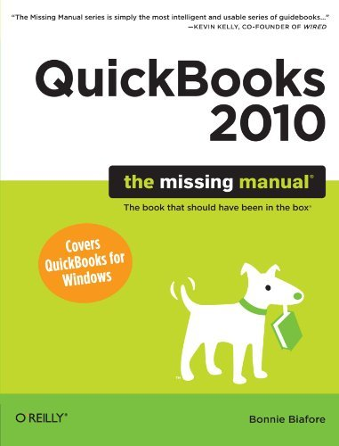 Bonnie Biafore Quickbooks 2010 The Missing Manual
