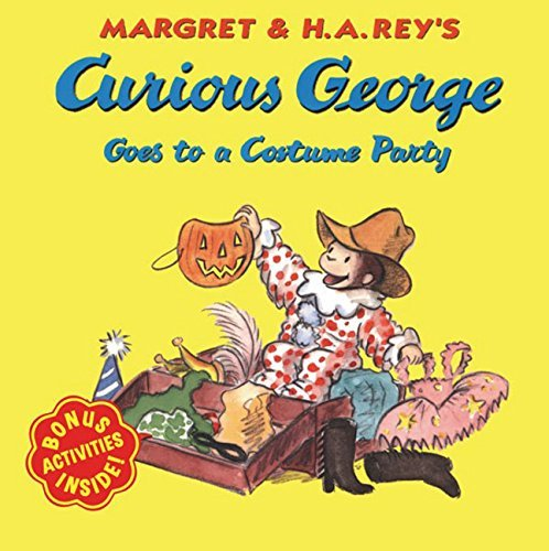 Margret Rey Curious George Goes To A Costume Party
