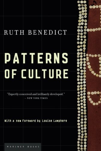 Ruth Benedict Patterns Of Culture