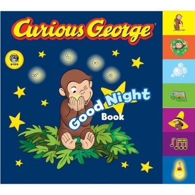 H. A. Rey Curious George Good Night Book A Tabbed Board Book