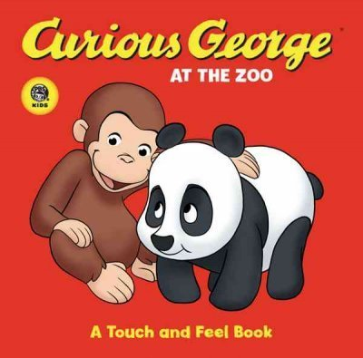 H. A. Rey Curious George At The Zoo (cgtv Touch And Feel Boa