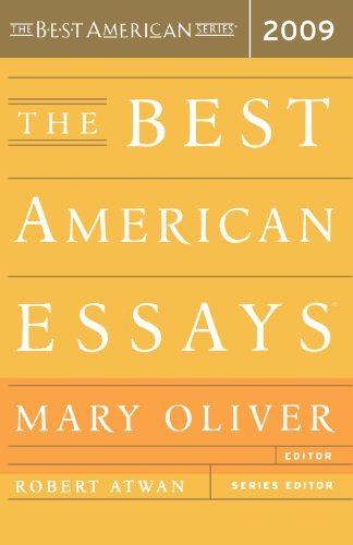 Mary Oliver The Best American Essays 2009