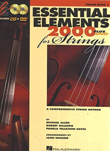 Robert Gillespie Essential Elements For Strings Book 1 With Eei Violin