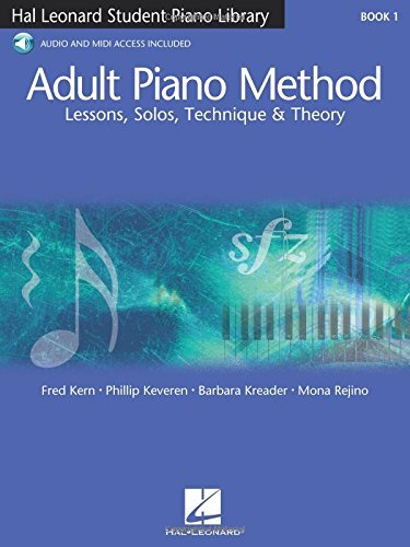 Fred Kern Adult Piano Method Book 1 Lessons Solos Technique & Theory