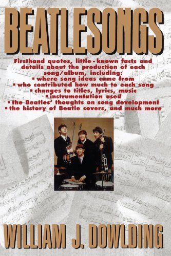 William J. Dowlding Beatlesongs