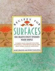 Mindy Drucker Recipes For Surfaces
