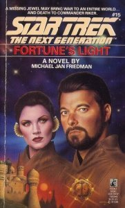 Michael Jan Friedman Fortune's Light Star Trek The Next Generation Book 15