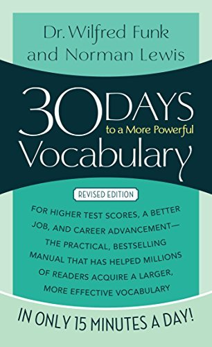 Norman Lewis 30 Days To A More Powerful Vocabulary Revised