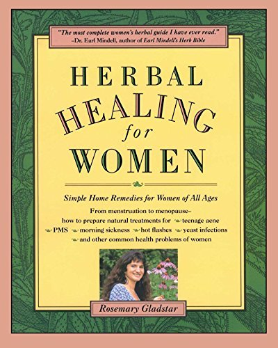 Rosemary Gladstar Herbal Healing For Women