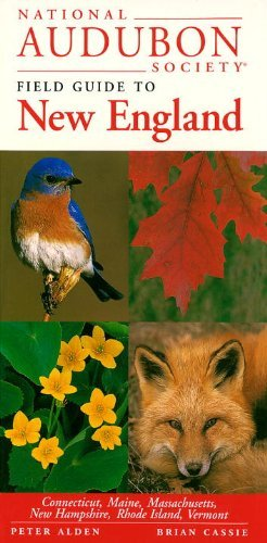 Peter Alden National Audubon Society Field Guide New England
