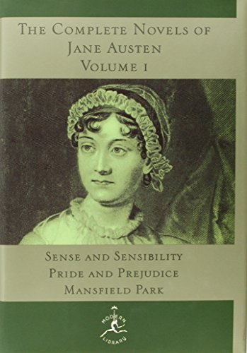 Jane Austen The Complete Novels Of Jane Austen Volume I Sense And Sensibility Pride And Prejudice Mansf
