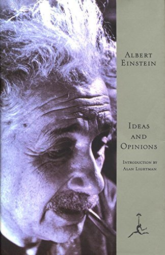 Albert Einstein Ideas And Opinions Revised