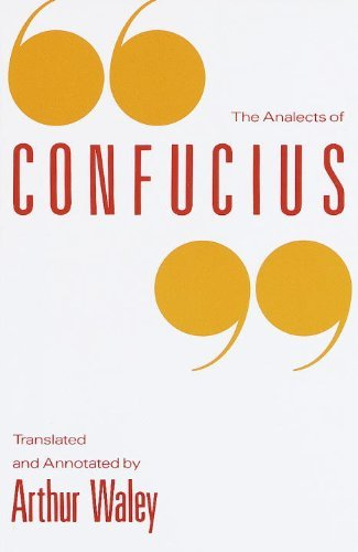 Arthur Waley The Analects Of Confucius