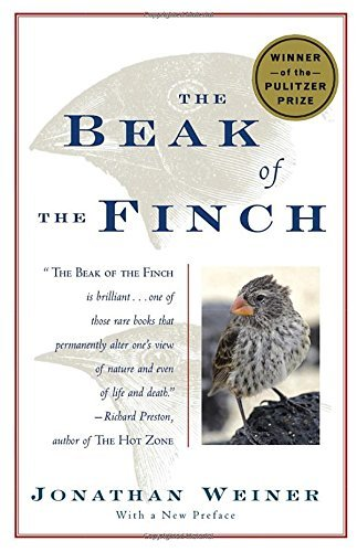 Jonathan Weiner The Beak Of The Finch A Story Of Evolution In Our Time