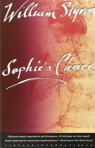 William Styron Sophie's Choice