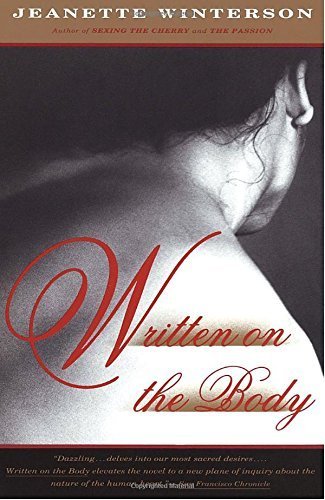 Jeanette Winterson Written On The Body