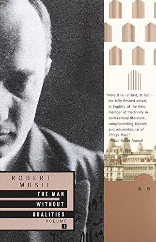 Robert Musil The Man Without Qualities Volume 1