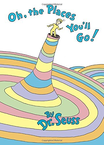 Dr Seuss Oh The Places You'll Go!
