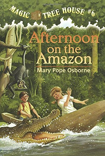 Mary Pope Osborne Afternoon On The Amazon