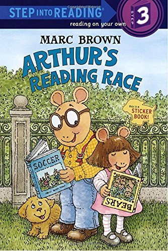Marc Tolon Brown Arthur's Reading Race [with Two Full Pages Of]