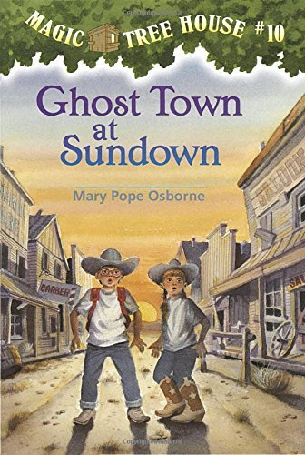 Mary Pope Osborne Ghost Town At Sundown