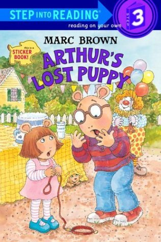 Marc Brown Arthur's Lost Puppy [with Stickers]