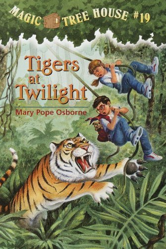 Mary Pope Osborne Tigers At Twilight Magic Tree House #19