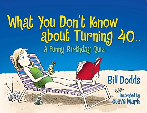 Bill Dodds What You Don't Know About Turning 40 A Funny Birthday Quiz