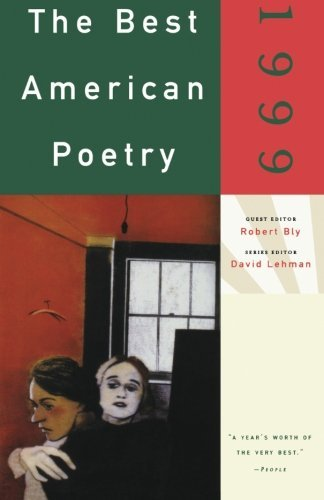 David Lehman The Best American Poetry 1999