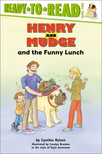 Cynthia Rylant Henry And Mudge And The Funny Lunch Reprint