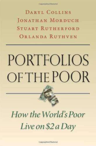 Daryl Collins Portfolios Of The Poor How The World's Poor Live On $2 A Day