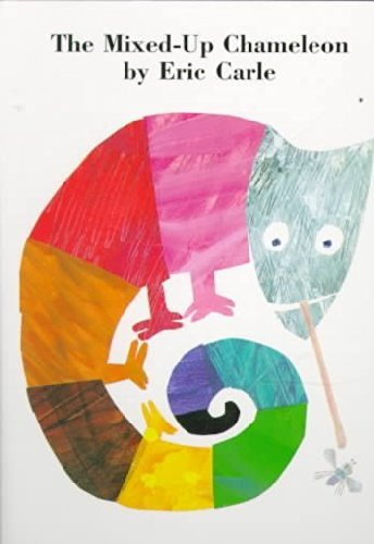Eric Carle The Mixed Up Chameleon Board Book