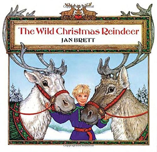 Jan Brett The Wild Christmas Reindeer