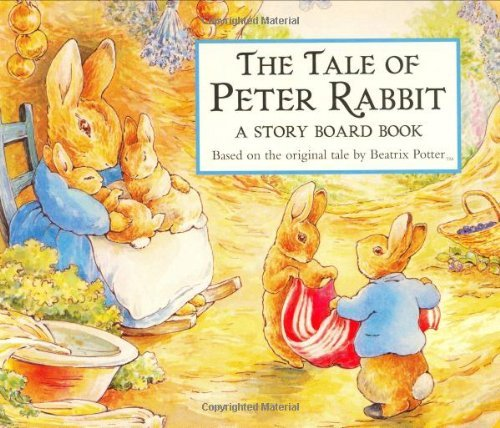 Beatrix Potter The Tale Of Peter Rabbit Story Board Book