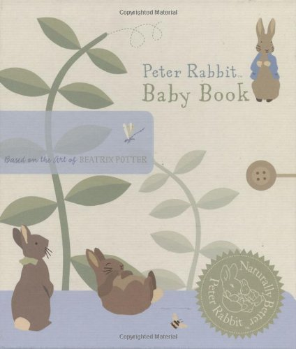 Beatrix Potter Peter Rabbit Baby Book