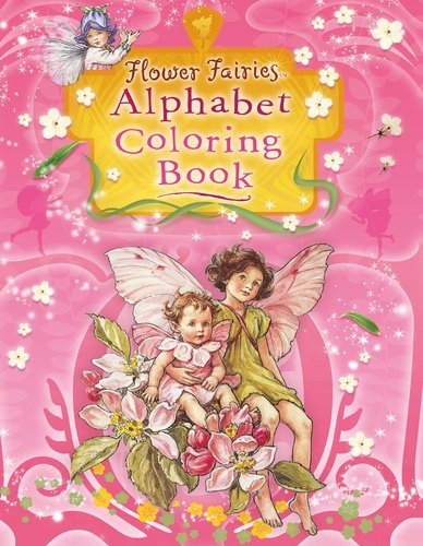 Cicely Mary Barker Flower Fairies Alphabet Coloring Book
