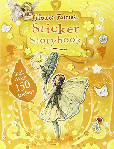 Cicely Mary Barker Flower Fairies Sticker Storybook