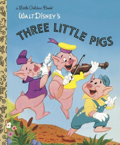 Golden Books Three Little Pigs