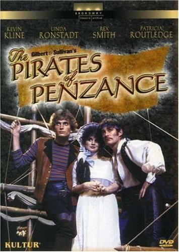 Kline Ronstadt Smith Routledge Pirates Of Penzance (1983) Nr
