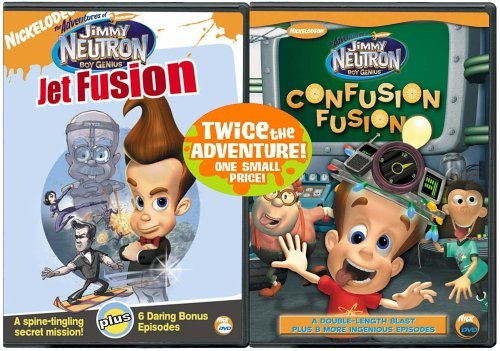 Jet Fusion Confusion Fusion Adventures Of Jimmy Neutron Bo Clr Back To Back Nr 2 DVD